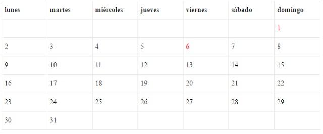 Calendario Sevilla.Calendario 2017